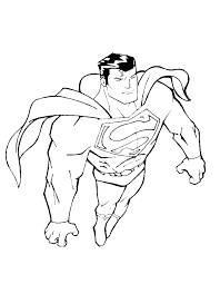 Small Picture Superman City Situation Watching Coloring Pages Super Hero