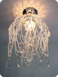 beautiful hanging basket chandelier or chandelier made using a hanging basket vintage necklaces pearls glass beads new hanging basket chandelier