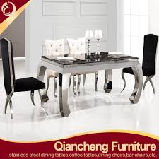 Stainless Steel Kitchen Tables Stainless Steel Dining Table Base Stainless Steel Dining Table