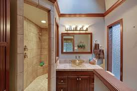 basement design ideas. Finished-basement-bath Basement Design Ideas