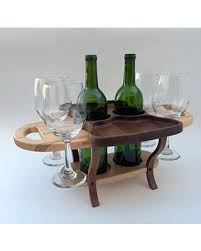 Wine rack table Circular Wood Wine Bottle Caddy Wine Rack Table Wine Bottle Holder Wine Glasses Touch Of Class New Bargains On Wood Wine Bottle Caddy Wine Rack Table Wine Bottle