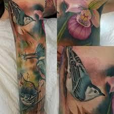 Steve Progress On A The Bird Leg Sleeve Ink Kings Tattoo Facebook