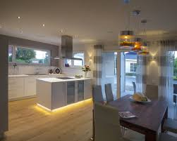 Wohnzimmer Esszimmer Und Küche In Einem Raum Kitchen