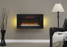 wintercrest wall mount electric fireplace