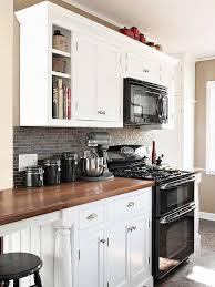 kitchens with white appliances and white cabinets. Kitchens With White Appliances And Dark Cabinets Photo - 12