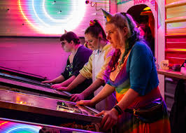 Female pinball wizards compete — seriously and supportively — at ...