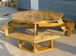 round wooden picnic table plans best paint for furniture