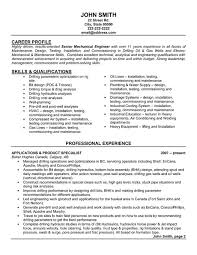Mechanical Drilling Engineer Resume Sample & Template