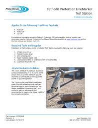 install the linemarker test station crsllc