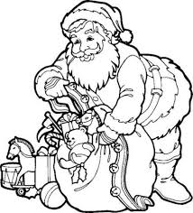 Small Picture Santa Claus Gifts Coloring Pages Coloring Pages