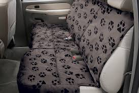 canine covers semi custom rear seat protector