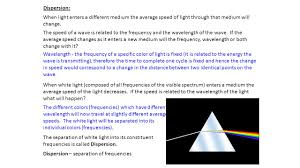 Speed Of Light Frequency Wavelength Huygens Principle Electromagnetic Waves Can Be Examined