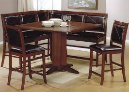 corner dining room furniture. Vintage Dining Room Design With Solid Hardwood Counter Height Kitchen Tables, Oak Veneer Table Top Corner Furniture