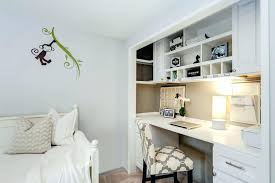 home office in a closet. Closet Home Office In A