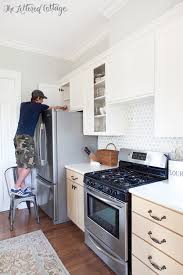 benjamin moore kitchen cabinet paintKitchen Cabinet Makeover How To Paint Cabinets  The Lettered
