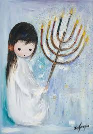 happy hanukkah to those celebrating the festival of lights teddegrazia degrazia artist
