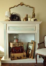 Faux Fireplace Insert Faux Fireplace Mantel Idi Design
