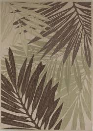 3602 465 outdoor beige palm leaves