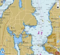 Puget Sound Apple Cove Point To Keyport Marine Chart