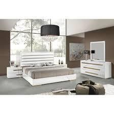 Modern Pc Customizable Bedroom Set Modern King Platform Bed - Palladian bedroom set