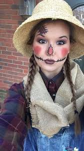 cute scarecrow makeup for