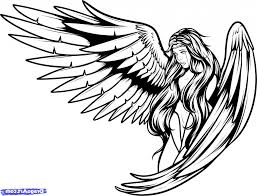 Angel Sketch Angels Drawing Pictures At Getdrawings Com Free For