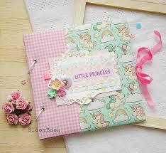 Baby Photo Album Book Personalized Baby Memory Book Girl Baby Album Baby Shower