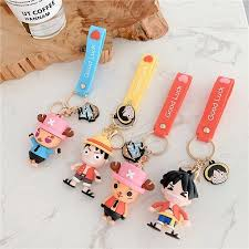 Glossy, matte, and transparent options in various sizes. One Piece Luffy Tony Tony Chopper Anime Cute Keychain Key Ring Cartoon Key Chain Car Bag Pendant Key Ring For Airpods Case 3d Buy On Zoodmall One Piece Luffy Tony Tony Chopper