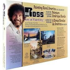 bob ross paint kits painting rural oil color set supplies uk