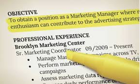 What Does Objective Mean On A Resume Fascinating What Does The Word Objective Mean On Resume Examples A Resumes