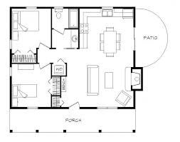 Log Cabin Floor Plans Is Unique  Home Design By JohnCabin Floor Plans