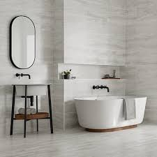 white bathroom tiles. Modren Bathroom Wickes Callika Mist Grey Porcelain Tile 600 X 300mm To White Bathroom Tiles N