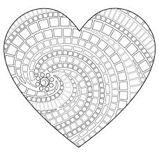 Mosaic Coloring Pages Printable Coloring Image