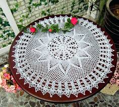 round cotton table cloth decorations handmade crochet flowers cotton tablecloth round table cloth garden pineapple flower round cotton table cloth