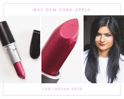 mac new york apple for indian skin