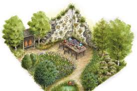 Small Picture Pupils from Bridgend schools are taking this garden design to the