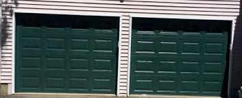 hunter garage doorsgreen  JA Overhead Door