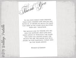 free thank you notes templates printable thank you card template black white wedding thank