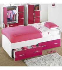kids single bed with storage. Fine With Brand New HighGloss Carleton 2 Storage Drawers Childrens Kids Single Bed   Pink Inside With Y