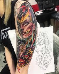 нео традиционные татуировки Isnard Barbosa