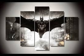 batman painting framed canvas wall art