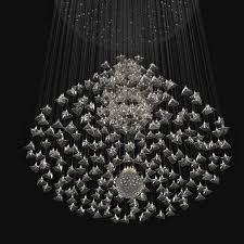 custom made chandelier 3d model max obj 3ds fbx mtl unitypackage 4