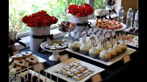 Buffet Table Decorations Ideas Best Buffet Table Decorating Ideas Youtube