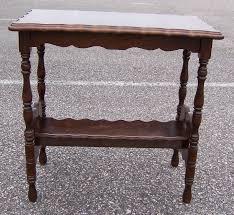 Wooden Side Table Triple A Resale Vintage Wooden Bookshelf Side Table