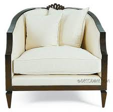 art moderne furniture. French Art Moderne Style Barrel Chair Furniture