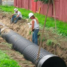 hdpe pipe for drainage systems perforated boss