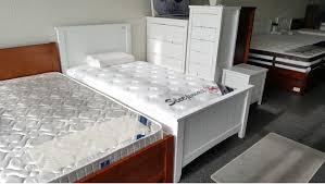 King Single Bedroom Suites 610 Bed King Single White 2016 Tall Boy Slim Boy Bedside Table Ynl