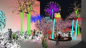 The Light Garden Electric Botanical Garden To Open On Dubai Creek The National