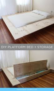 Gallery of Diy King Bed Frame With Storage In Trends Platform Images  Upholstered