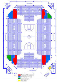 Uwg Coliseum Seating Charts